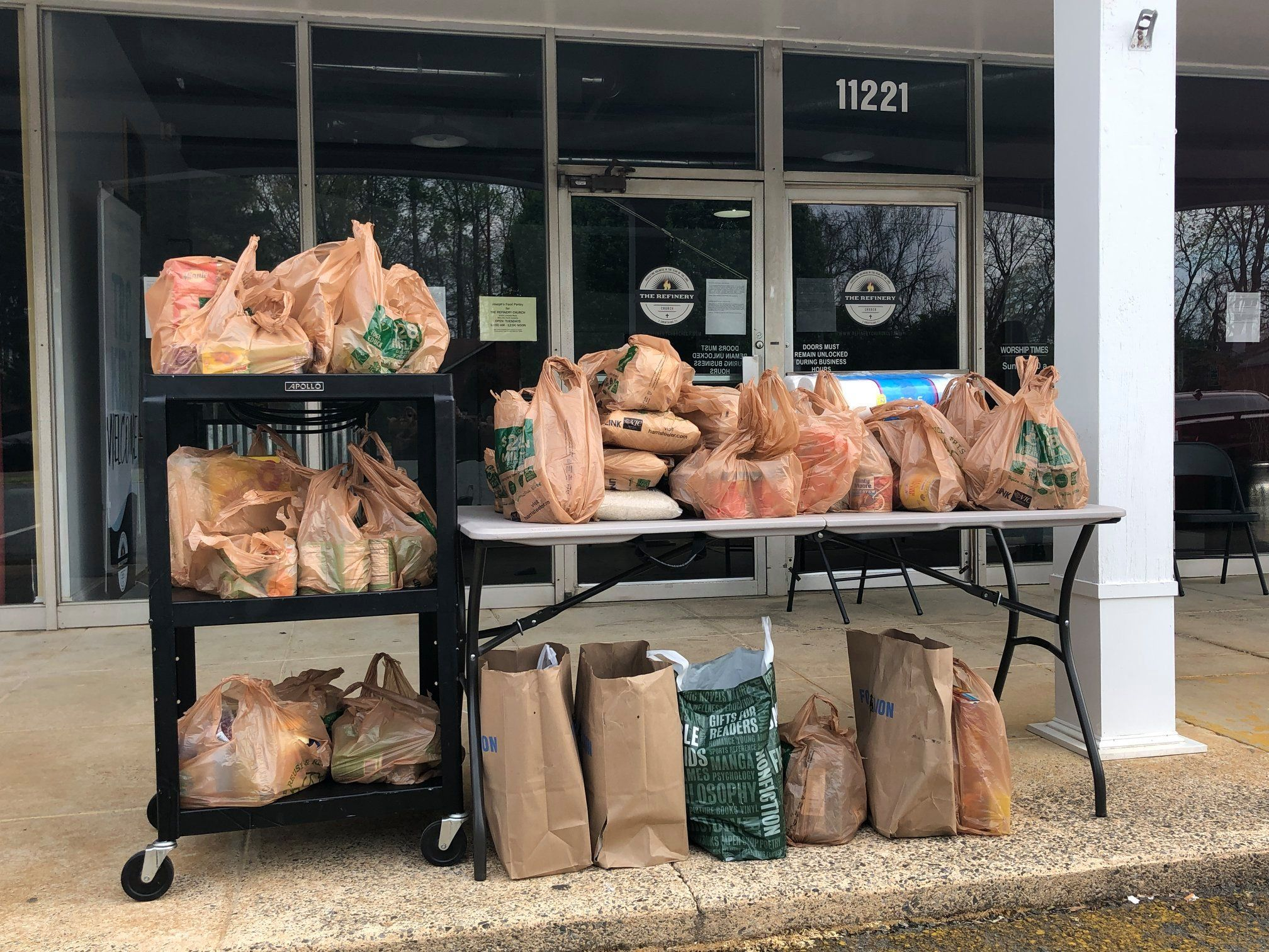 Joseph's Food Pantry at the Refinery Church