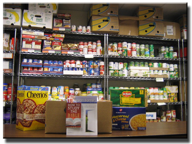 Northwest Christian Church Food Pantry