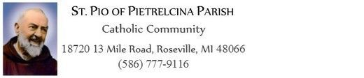 St Pio of Pietrelcina Catholic Church Food Assistance