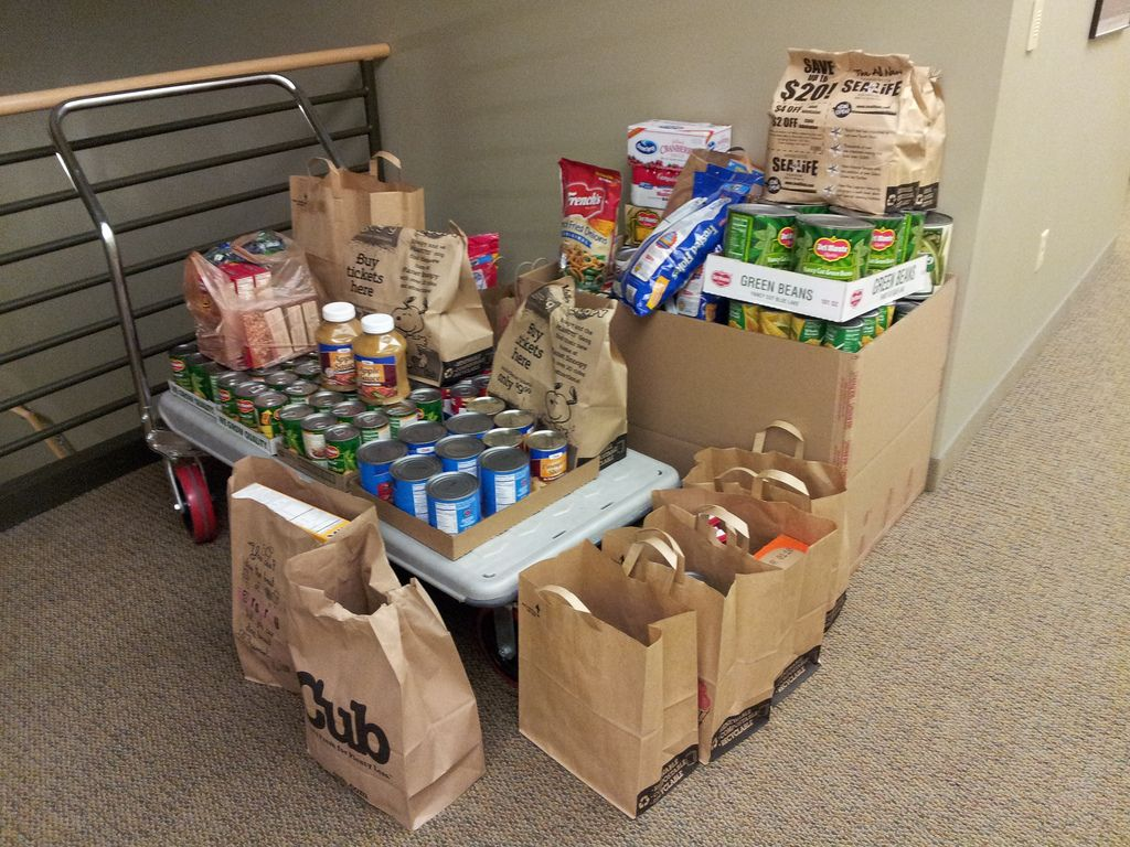 Davis Law Group Food Drive