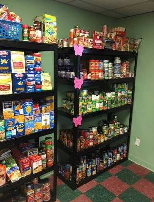 Shane Gives Thanks Inc- Carver's new food pantry