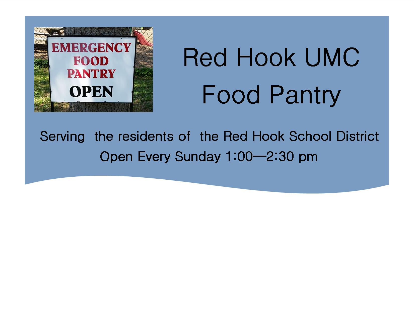 Red Hook UMC Food Pantry