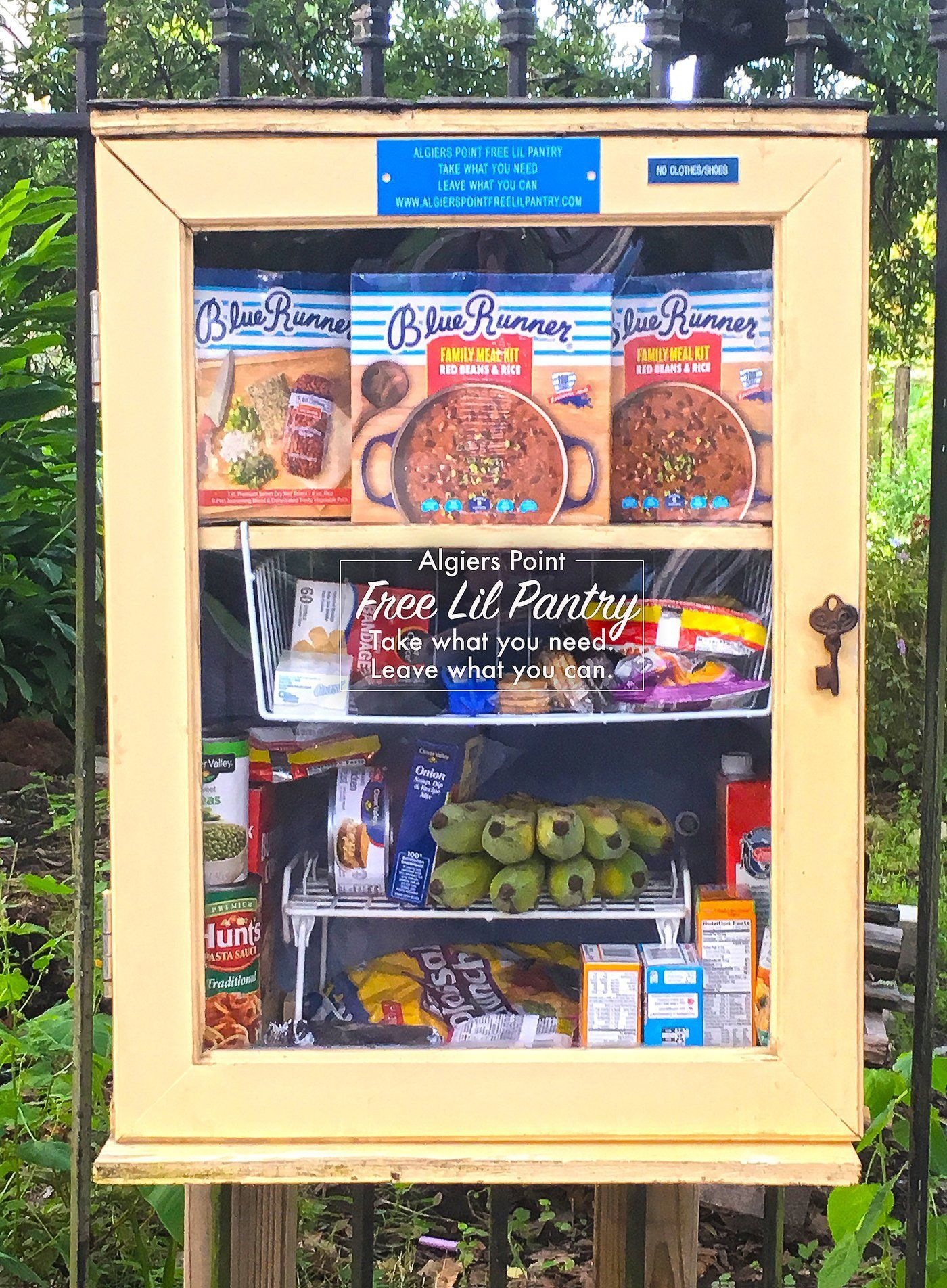 Algiers Point Free Lil Pantry