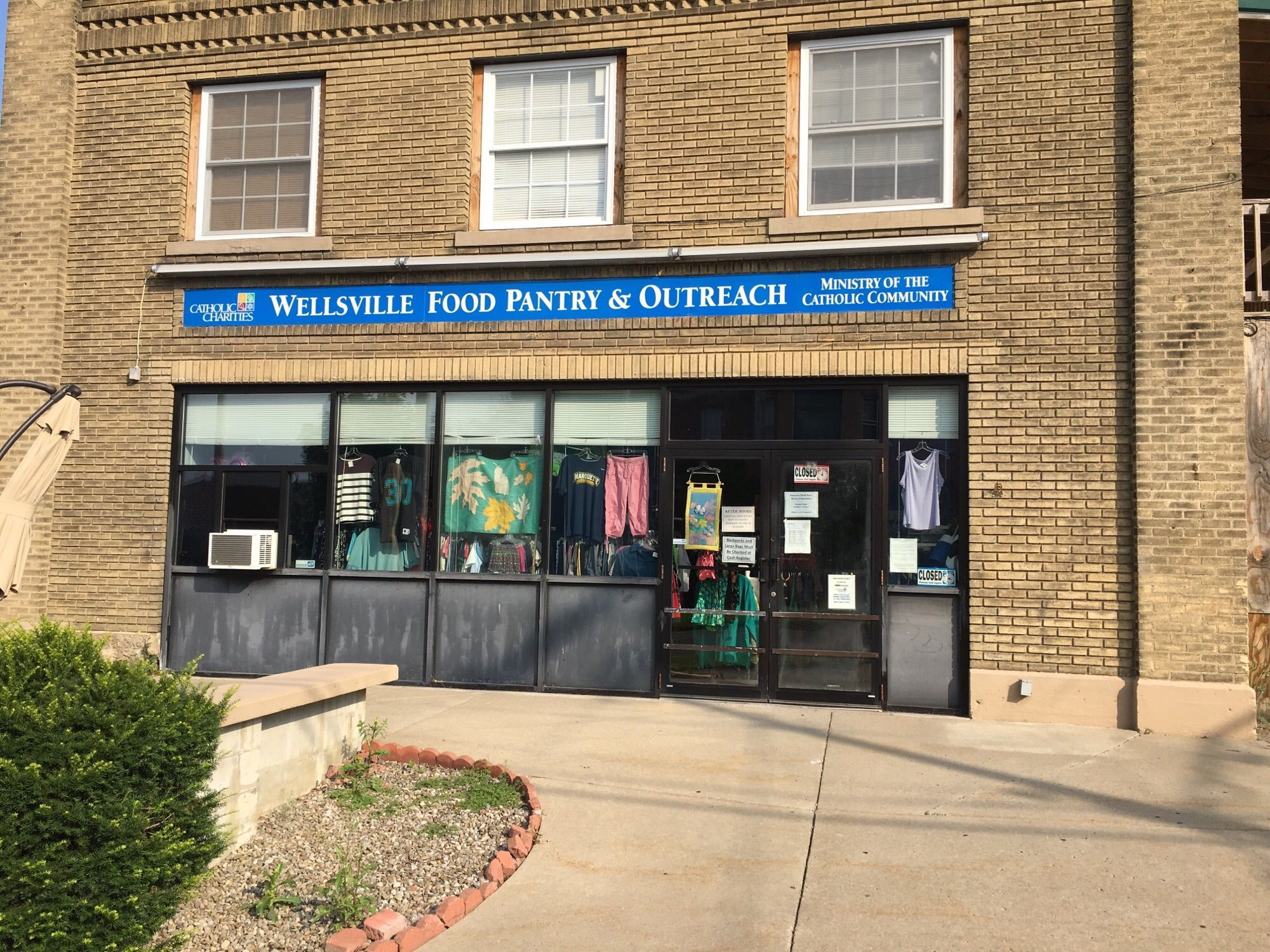 Wellsville Catholic Charities Food Pantry