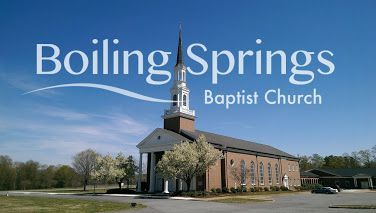 Boiling Springs Baptist Church Food Pantry