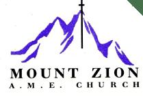 Mt. Zion A.M.E. Church After School Program