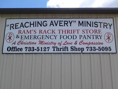 RAMS Rack food pantry
