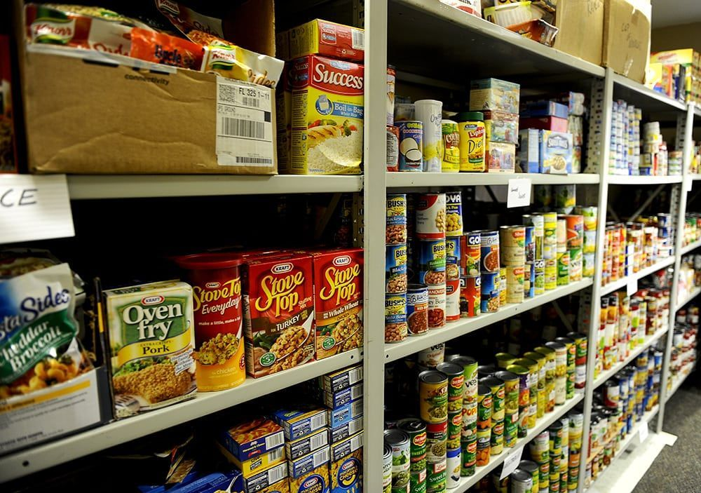 Salt Lake City Mission Food Pantry & Clothing Room