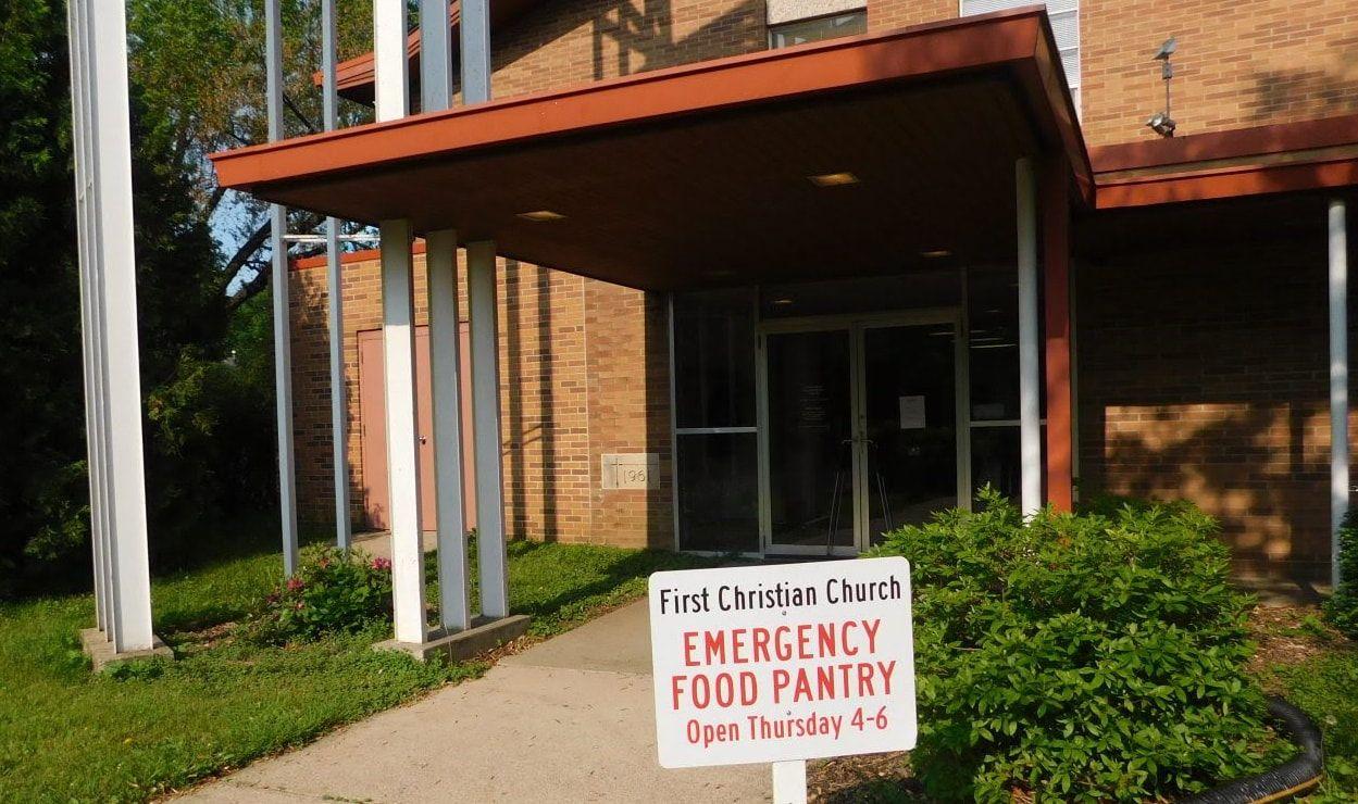 First Christian Church Emergency Food Pantry