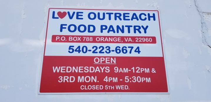 Love Outreach Food Pantry