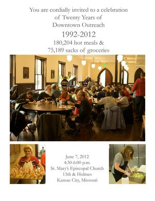 Downtown Outreach - St. Mary's Episcopal Church