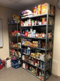 Clinton High School - Food Pantry