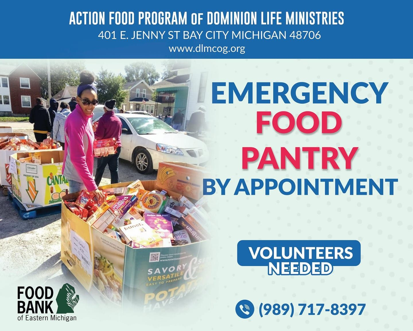 Action Food Program at Dominion Life Ministries Church of God