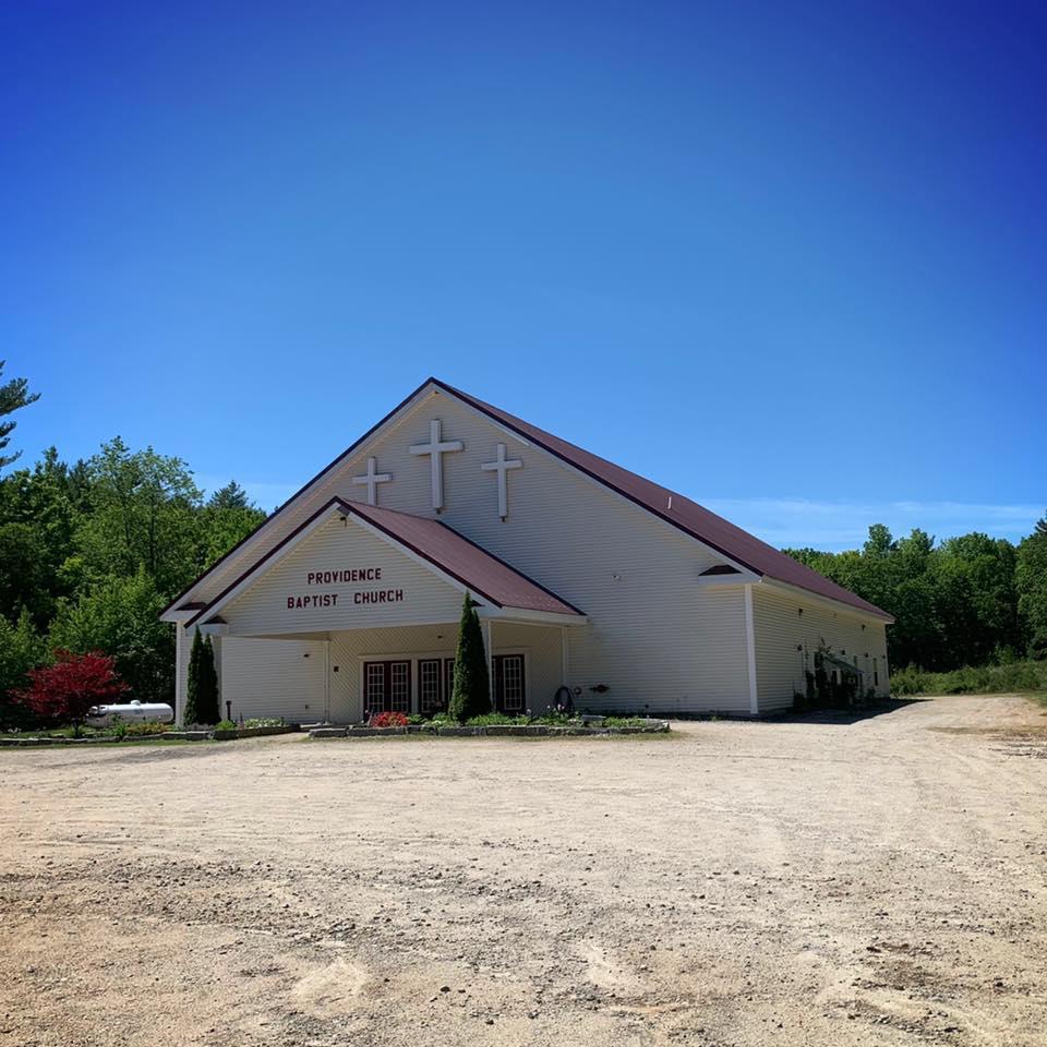 Providence Baptist food pantry