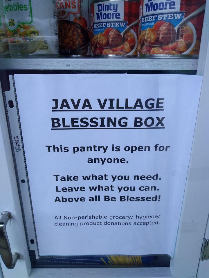 The Java Village Blessing Box
