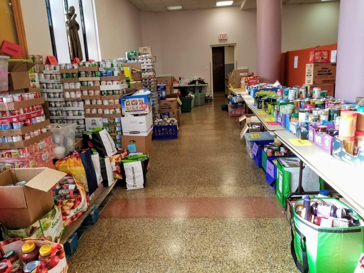 The Food Pantry at Our Lady of Sorrows