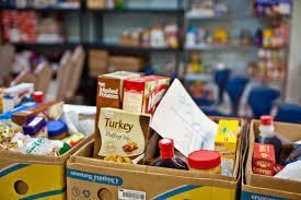Reeder Memorial Missions Place Food Pantry