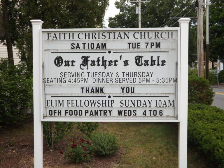 Our Father's Table - Faith Christian Church