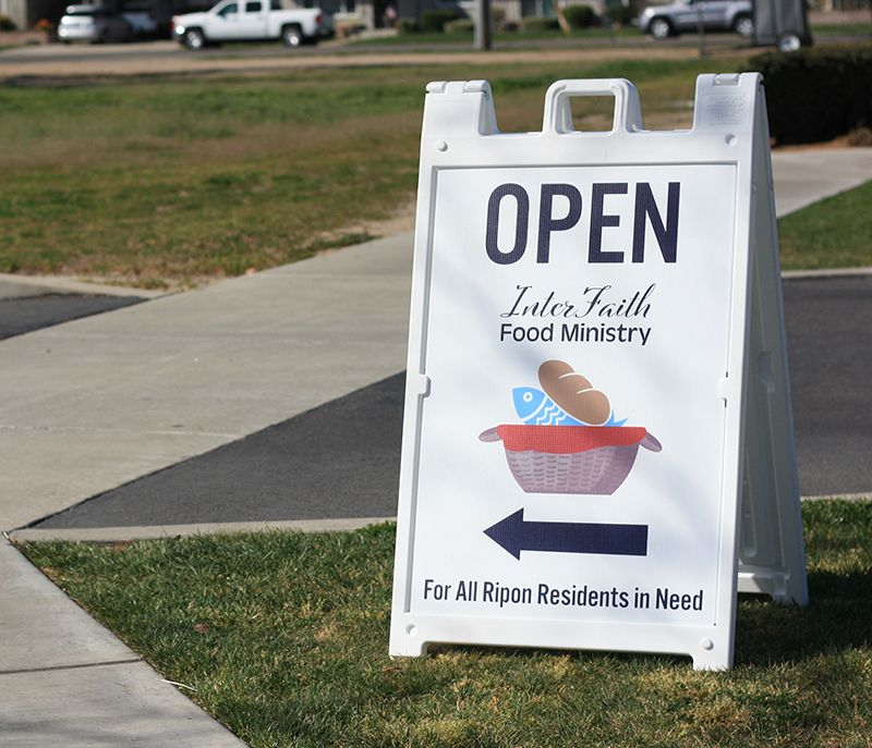 Ripon Inter-Faith Ministries Food Pantry
