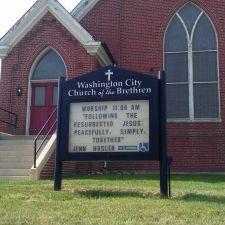 Washington City Church of the Brethren Nutrition Program