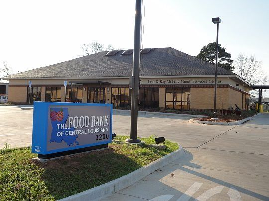 The Food Bank Of Central Louisiana
