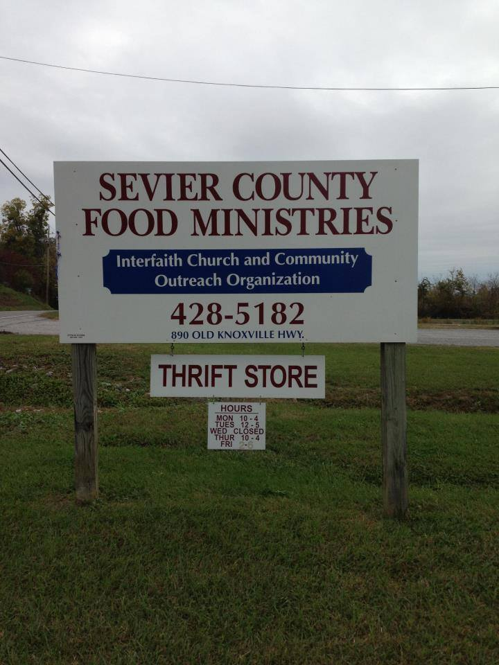 Sevierville TN Food Pantries Sevierville Tennessee Food Pantries