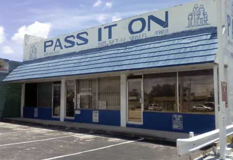 Pass It On Ministries Inc Food Pantry