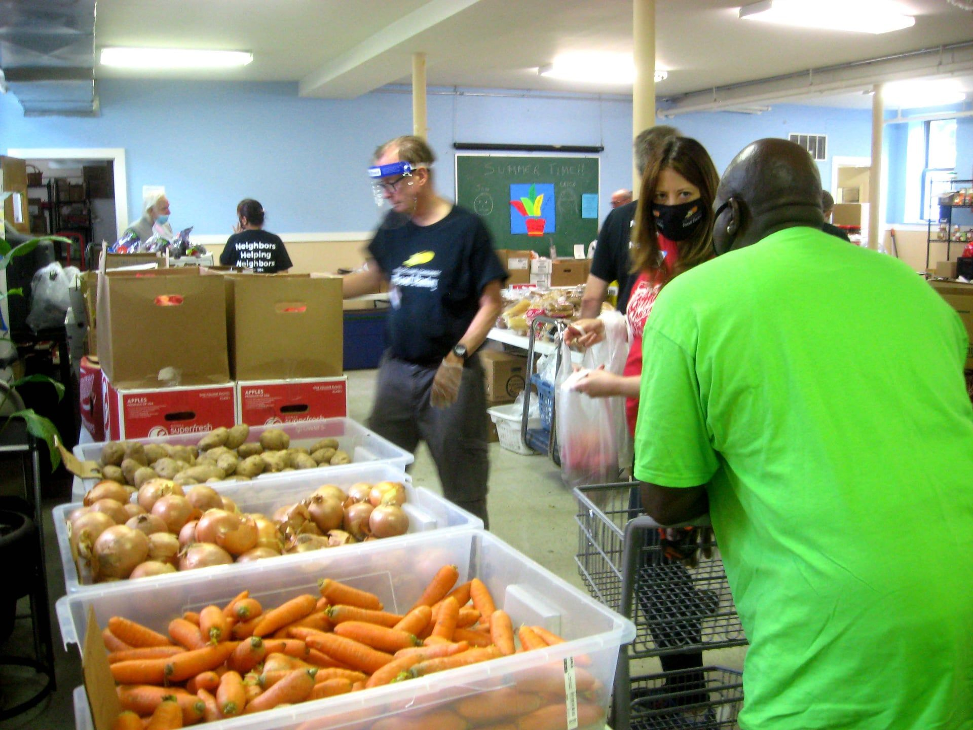 The Irving Park Community Food Pantry