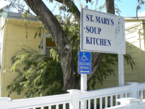 St. Mary�s Soup Kitchen