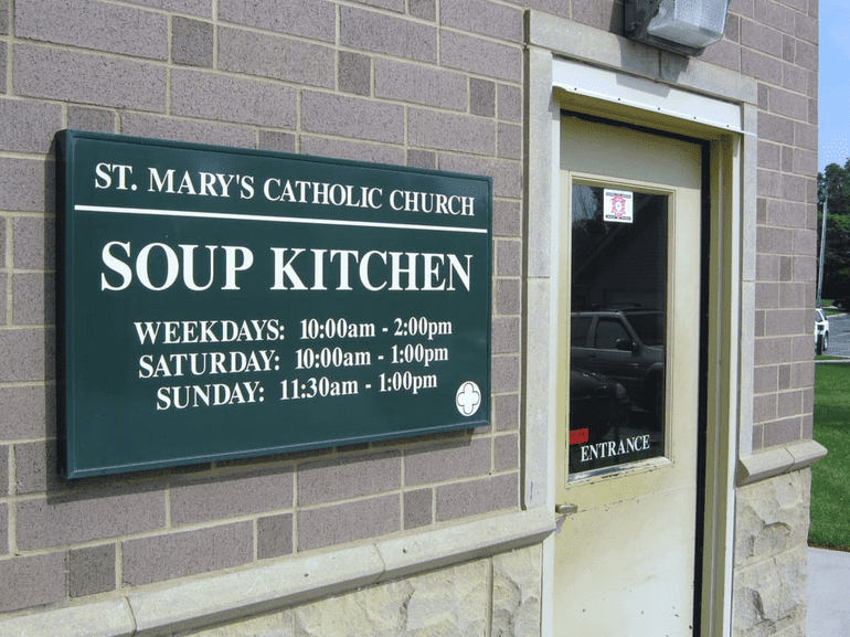 St. Mary's Catholic Church Soup Kitchen