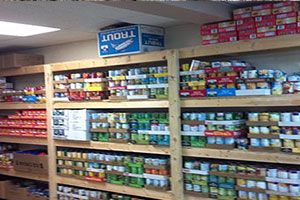 New Zion Community Church Emergency Pantry