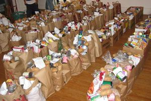 Mountain Of Food For The Multitude