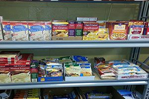 Scott County Homeless Shelter Food Bank