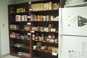 Cambridge Seniors Building Food Pantry