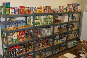 Scan Hunger Center Pantry